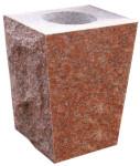 Wausau Red Tapered Vase